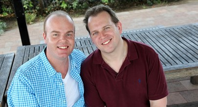From fostering to adoption - Chris and David's journey continues Image